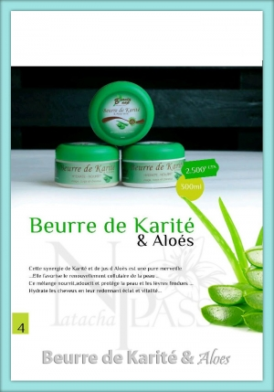 Beurre de Karite & Aloes - (Beauty NAP)
