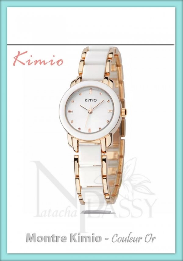 Montre Homme Kimio - Or